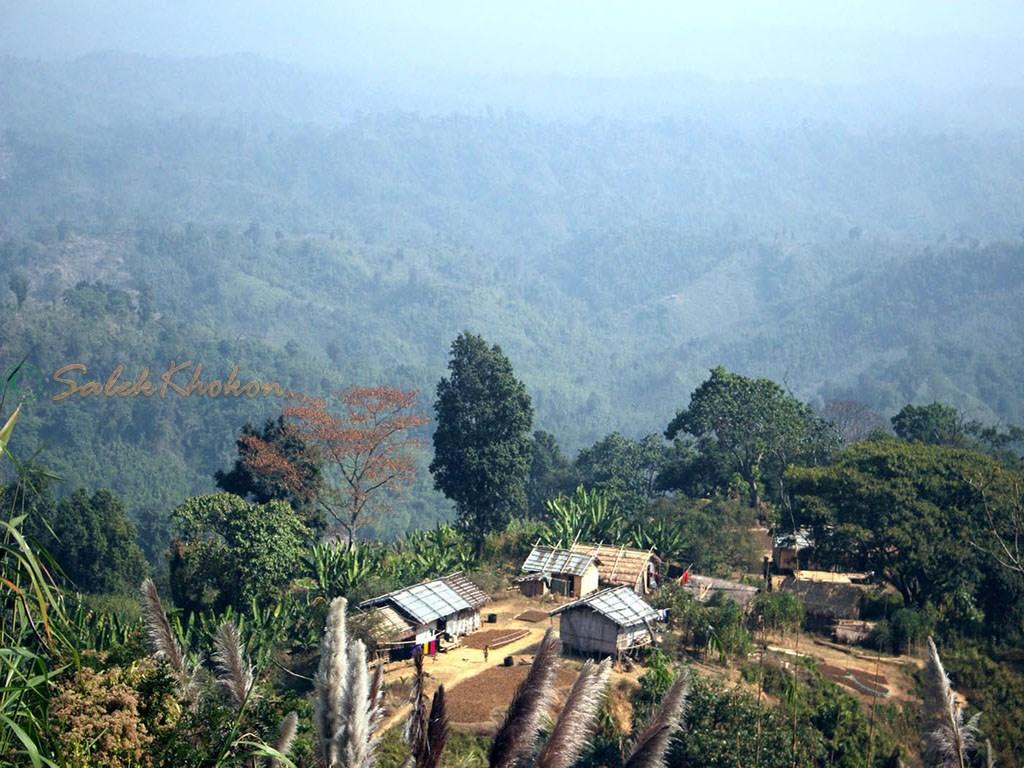 সাজেকের পাইলিংপাড়ায়